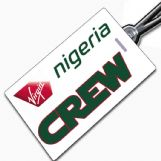 Virgin Nigeria Crew Tag